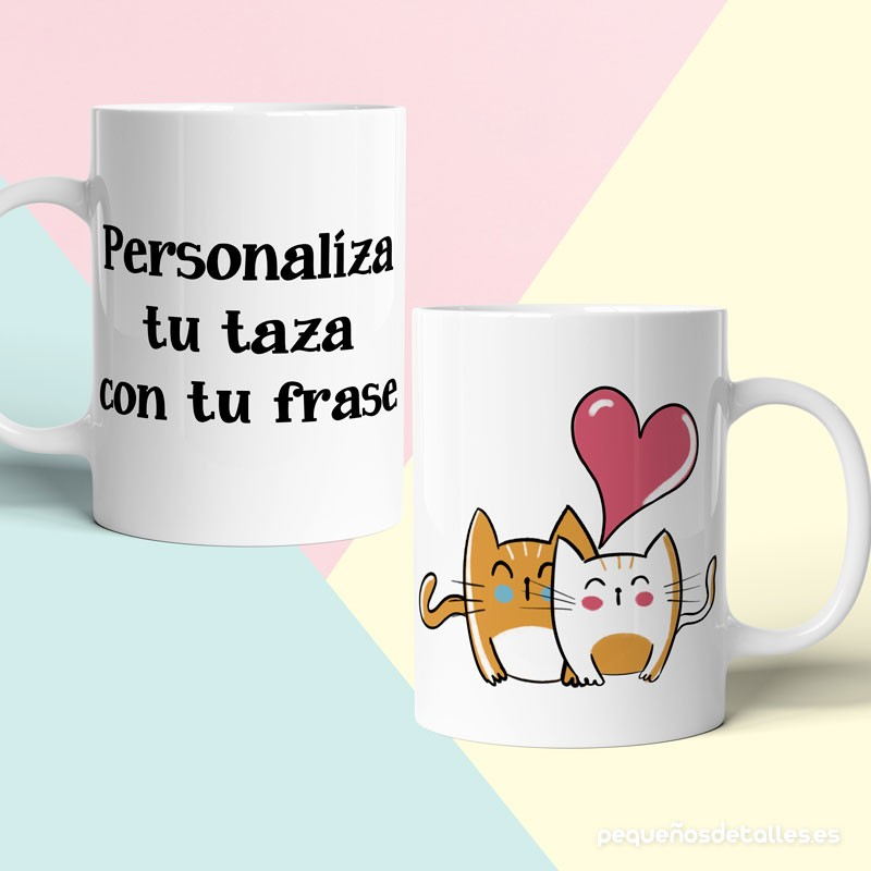 Taza Gatos Personalizada