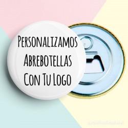 Abrebotellas personalizados con logo