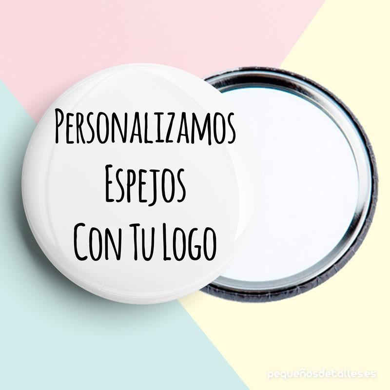 Espejos personalizado con logo