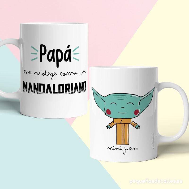 Taza Papá Mandaloriano