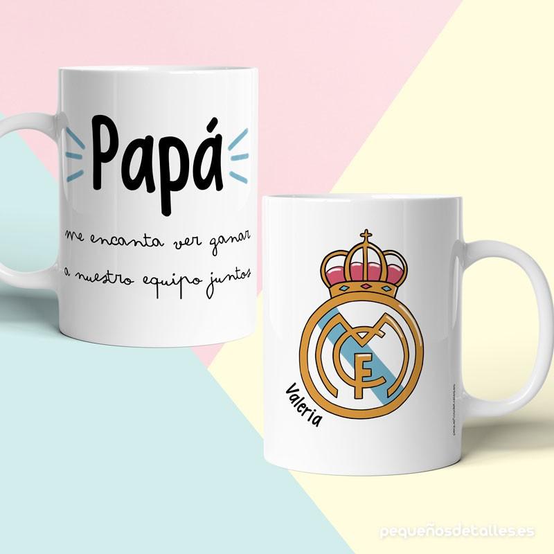 Taza Real Madrid Personalizada