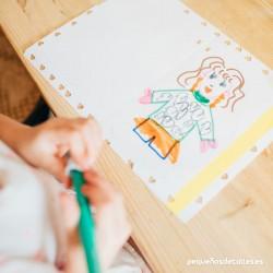Dibujo ejemplo día de la madre
