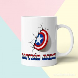 Taza Capitán America